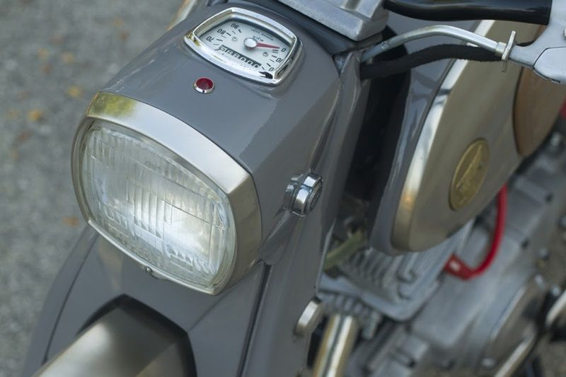 Honda 150cc Dream-headlight