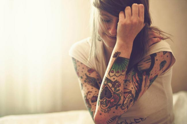 tattoo-woman