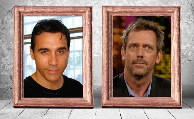 Adrian-Paul-and-Hugh-Laurie-—-56-years-old