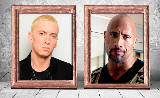 Eminem-and-Dwayne-Johnson-—-43-years-old